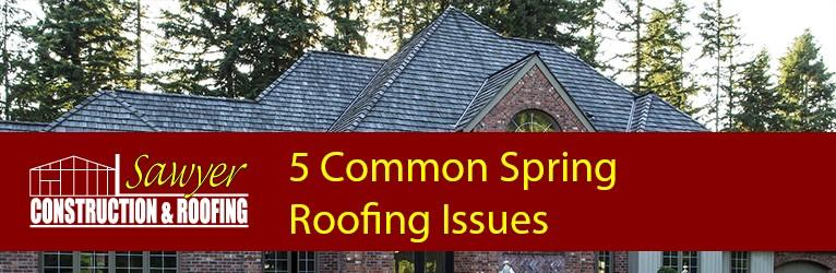 The 5 Most Common Spring Roofing Problems Sawyer Roofing