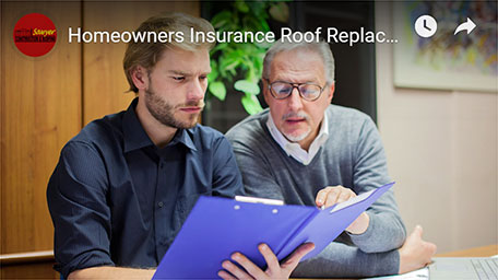 Homeowner Insurance Roof Replacement Video